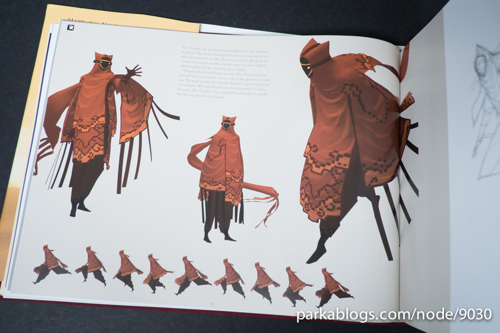 Game Character Design Books : Journey art book designing charlie